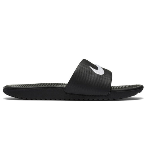 NIKE KIDS KAWA SLIDE BLACK/WHITE