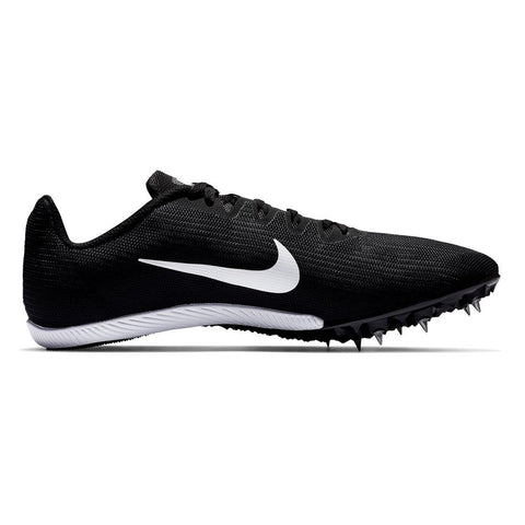 NIKE MEN'S ZOOM RIVAL M9 TRACK SHOE BLACK/WHITE/DARK GREY
