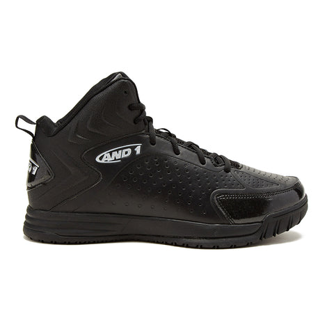 AND1 MEN'S TIPOFF BASKETBALL SHOE BLACK
