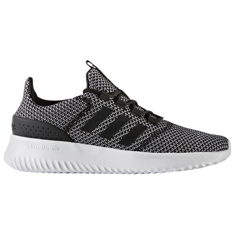 ADIDAS WOMEN'S CLOUDFOAM ULTIMATE LIFESTYLE SHOE CARBON/BLACK/WHITE