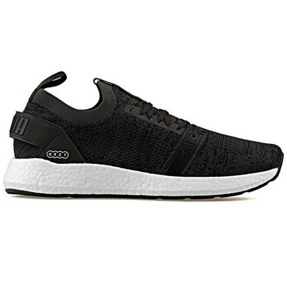 7bf810d64f07 PUMA MEN S NRGY NEKO ENGINEER KNIT LIFESTYLE SHOE FOREST NIGHT BLACK ...