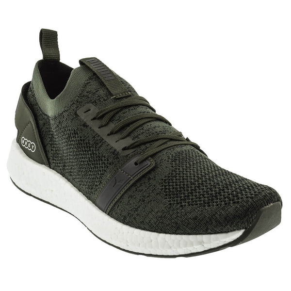 0c1f9f40044d PUMA MEN S NRGY NEKO ENGINEER KNIT LIFESTYLE SHOE FOREST NIGHT BLACK –  National Sports