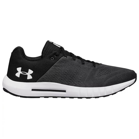 UNDER ARMOUR MEN'S MICRO G PURSUIT RUNNING SHOE ANTHRACITE/BLACK