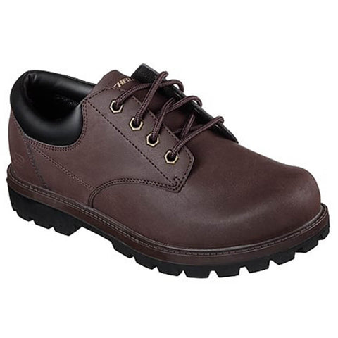 SKECHERS MEN'S TORIC - BERENO LIFESTYLE SHOE CHOCOLATE