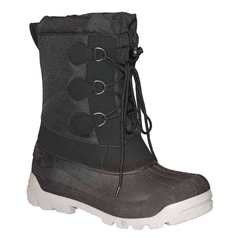 MISTY MOUNTAIN MEN'S SNOW PAC WINTER BOOT BLACK