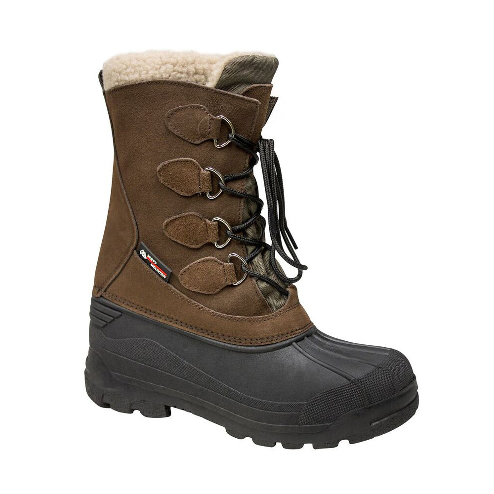 e8ea8ef41 MISTY MOUNTAIN MEN'S ARCTIC SNOW WINTER BOOT BROWN – National Sports