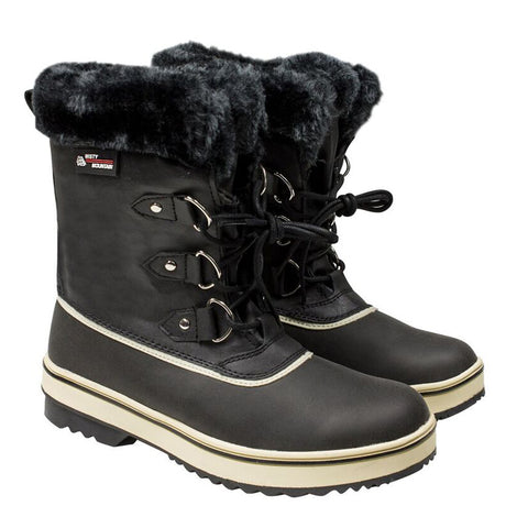 MISTY MOUNTAIN WOMEN'S FLURRY WINTER BOOT BLACK