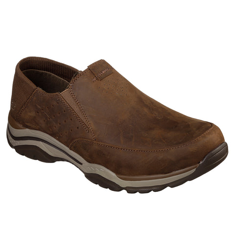 SKECHERS MEN'S ROVATO-MASEGO LIFESTYLE SHOE DESERT