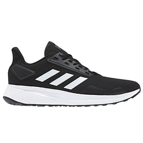 ADIDAS MEN'S DURAMO 9 RUNNING SHOE BLACK/WHITE/BLACK