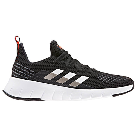 ADIDAS BOYS GRADE SCHOOL OZWEEGO RUN KIDS SHOE BLACK/WHITE/SOLAR RED