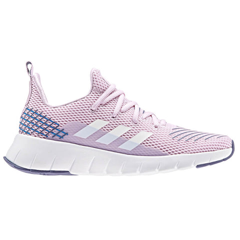 ADIDAS GIRLS GRADE SCHOOL OZWEEGO RUN KIDS SHOE AERO PINK/WHITE/TRUE BLUE