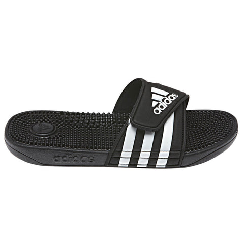ADIDAS KIDS ADISSAGE SLIDE BLACK/WHITE/BLACK