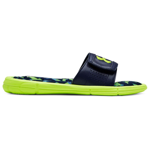 UNDER ARMOUR KIDS IGNITE IMPACT V SLIDE YELLOW/ACADEMY/YELLOW