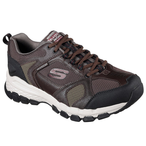 SKECHERS MEN'S OUTLAND 2.0 RUNNING SHOE BROWN/BLACK