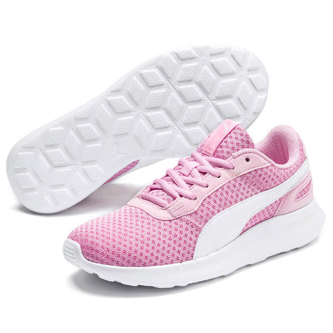 PUMA GIRLS GRADE SCHOOL ST ACTIVATE JR KIDS SHOE PALE PINK/WHITE