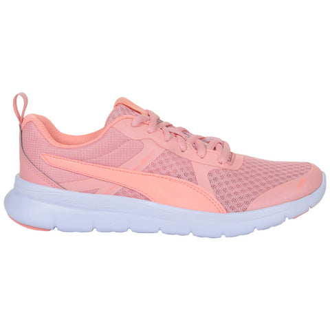 PUMA GIRLS GRADE SCHOOL FLEX ESSENTIAL JR KIDS SHOE PEACH BUD/BRIGHT PEACH