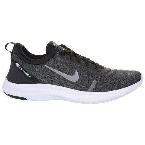NIKE MEN'S FLEX EXPERIENCE RN 8 RUNNING SHOE BLACK/METALLIC PEWTER/WHITE