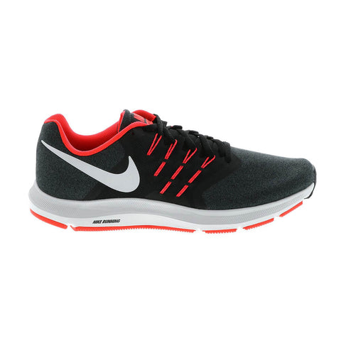 NIKE MEN'S RUN SWIFT RUNNING SHOE BLACK/GREY/RED
