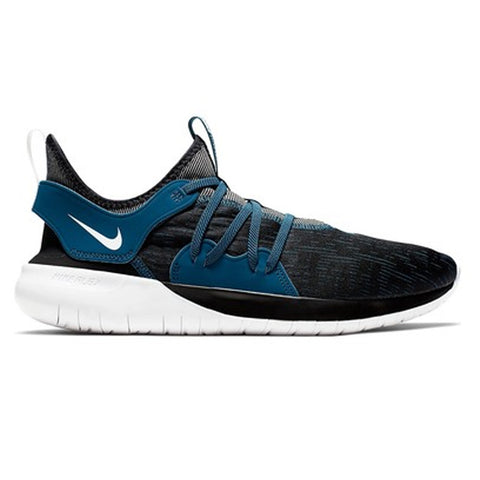NIKE MEN'S FLEX CONTACT 3 RUNNING SHOE BLACK/BLUE
