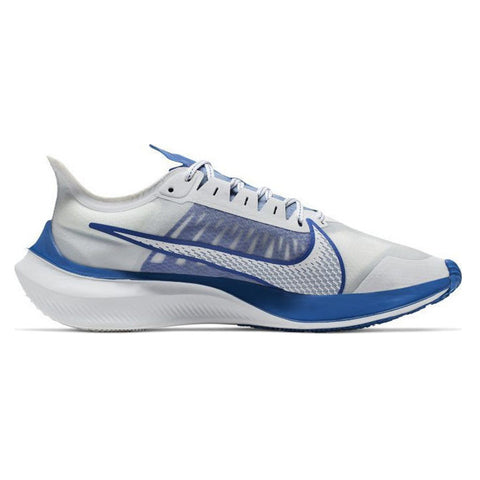 NIKE MEN'S ZOOM GRAVITY RUN RUNNING SHOE WHITE/BLUE/GREY
