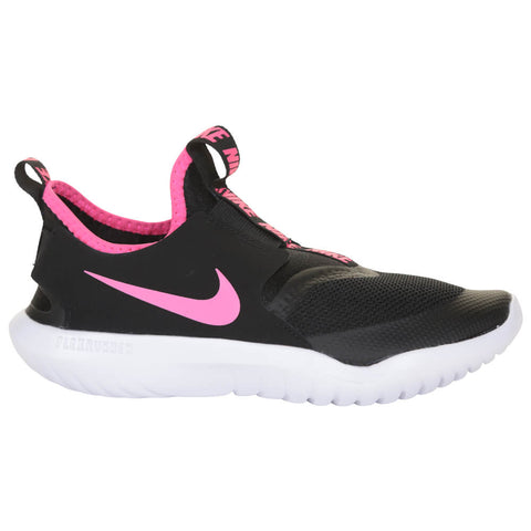 NIKE GIRLS PRE-SCHOOL FLEX RUNNER KIDS SHOE BLACK/HYPER PINK/WHITE