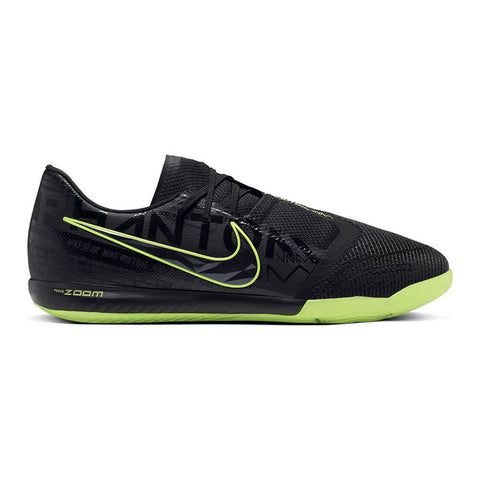 NIKE MEN'S ZOOM PHANTOM VENOM PRO IC INDOOR SOCCER CLEAT BLACK/VOLT