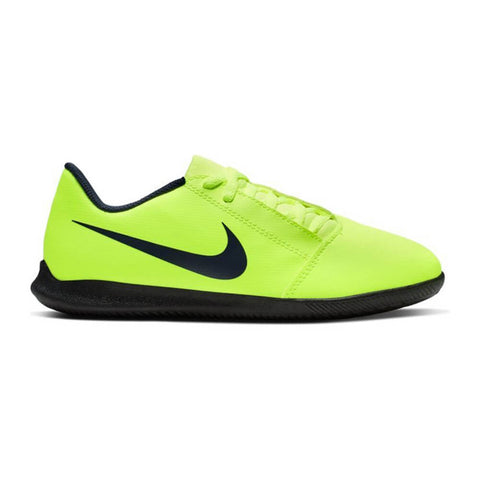 NIKE JUNIOR PHANTOM VENOM CLUB IC INDOOR SOCCER CLEAT BLACK/VOLT