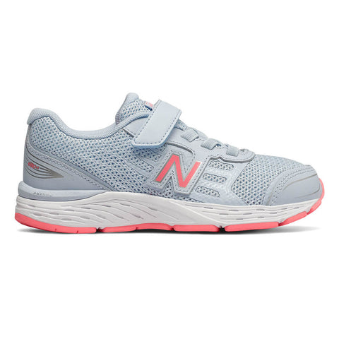 NEW BALANCE GIRLS PRE-SCHOOL YA680AG M KIDS SHOE AIR/GUAVA