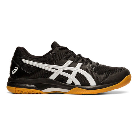 ASICS MEN'S GEL ROCKET 9 INDOOR COURT SHOE BLACK/WHITE