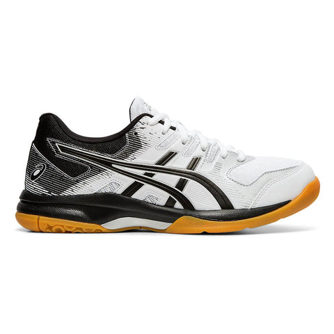 ASICS WOMEN'S GEL ROCKET 9 INDOOR COURT SHOE WHITE/BLACK