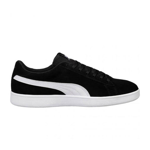 PUMA MEN'S SMASH V2 LIFESTYLE SHOE BLACK/WHITE