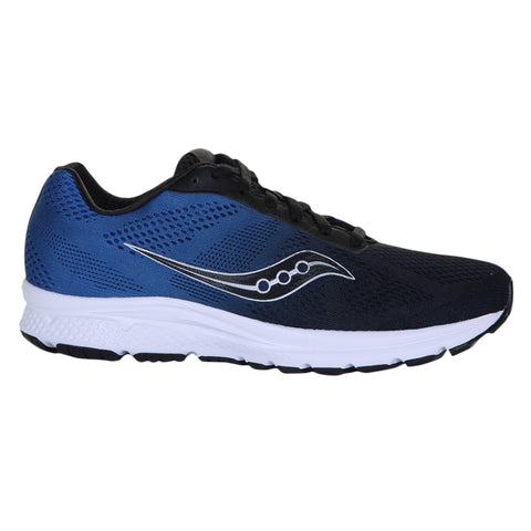 SAUCONY MEN'S IGNITE RUNNING SHOE NAVY/BLACK