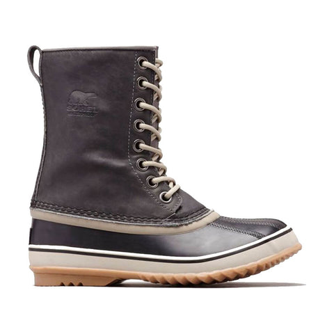 SOREL WOMEN'S 1964 PREMIUM LEATHER WINTER BOOT QUARRY/SILVER