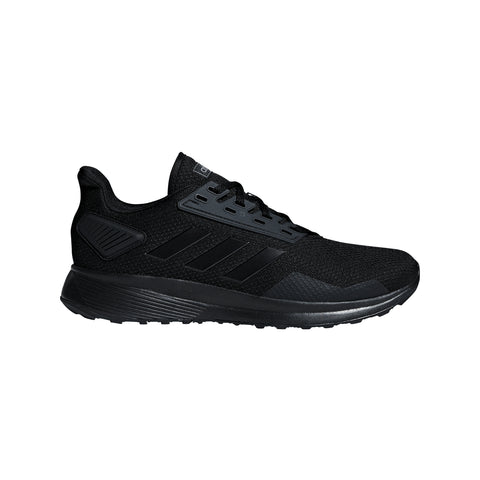ADIDAS MEN'S DURAMO 9 RUNNING SHOE BLACK/BLACK/BLACK