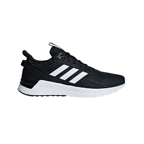 ADIDAS MEN'S QUESTAR RIDE RUNNING SHOE BLACK/WHITE