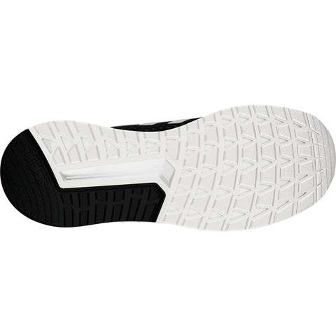 ADIDAS MEN'S QUESTAR RIDE RUNNING SHOE BLACK/WHITE BOTTOM SOLE