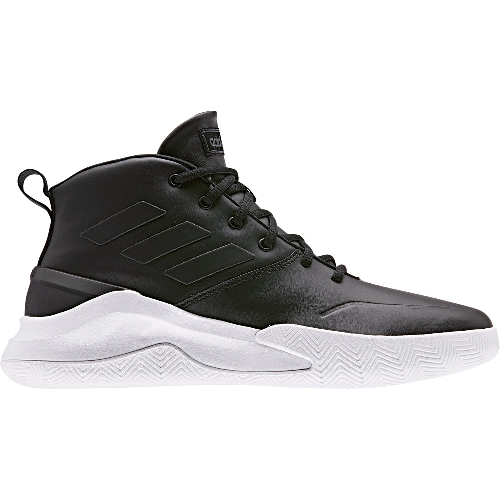 ADIDAS MEN'S OWN THE GAME BASKETBALL SHOE BLACK/WHITE