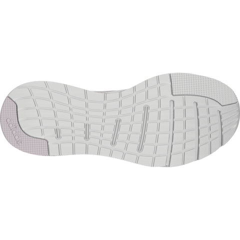 ADIDAS WOMEN'S SOORAJ RUNNING SHOE WHITE/WHITE/MAUVE BOTTOM SOLE