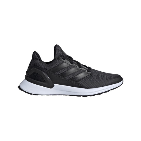 ADIDAS BOYS GRADE SCHOOL RAPID RUN EL X KIDS SHOE BLACK/BLACK