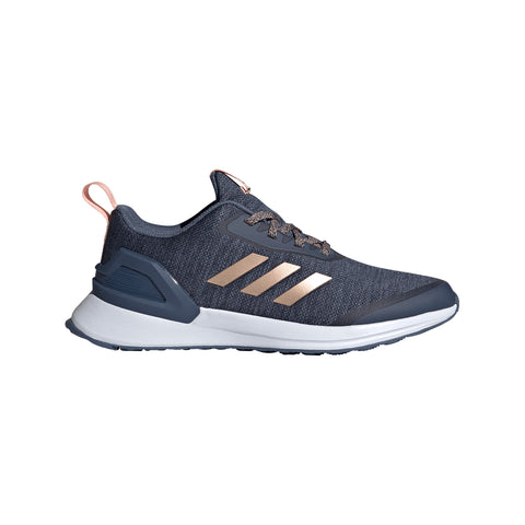 ADIDAS GIRLS GRADE SCHOOL RAPID RUN X KIDS SHOE INK/COP