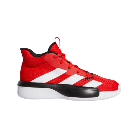 ADIDAS BOYS GRADE SCHOOL PRO NEXT K KIDS SHOE RED/RED/BLACK