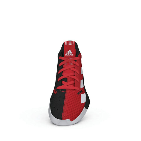 ADIDAS BOYS GRADE SCHOOL PRO NEXT K KIDS SHOE RED/RED/BLACK FRONT