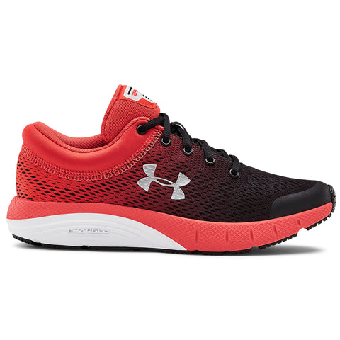 UNDER ARMOUR BOYS GRADE SCHOOL BANDIT 5 KIDS SHOE BLACK/RED/SILVER