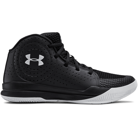 UNDER ARMOUR BOYS GRADE SCHOOL JET 2019 KIDS SHOE BLACK/BLACK/GREY