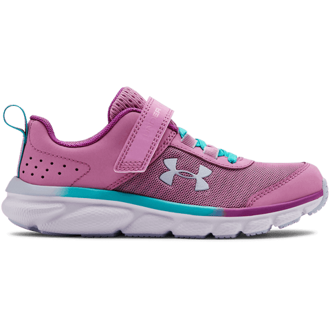 UNDER ARMOUR GIRLS PRE-SCHOOL ASSERT 8 AC KIDS SHOE ICE/BLUE/BLUE