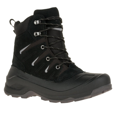 KAMIK MEN'S LABRADOR -40C WATERPROOF WINTER BOOT BLACK