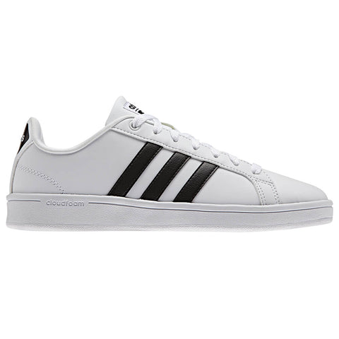 ADIDAS WOMEN'S CLOUDFORM ADVANTAGE WHITE/BLACK/WHITE LIFESTYLE SHOE
