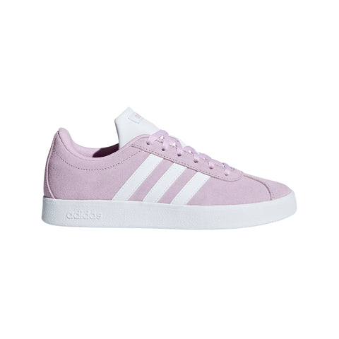 ADIDAS GIRLS VL COURT 2.0 LILAC/WHITE/WHITE LIFESTYLE SHOE