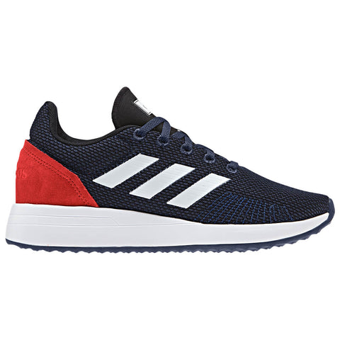 ADIDAS KIDS RUN70S BLUE/WHITE/HIRERE RUNNING SHOE