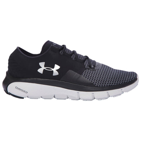 UNDER ARMOUR MEN'S SPEEDFORM FORTIS 2 BLACK RUNNING SHOE